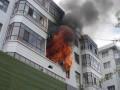 广州光复北路706号居民楼发生火灾